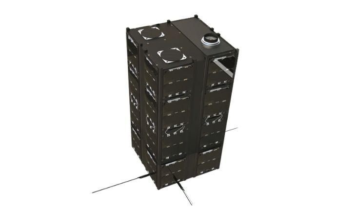 12U/16U CubeSat Bus image