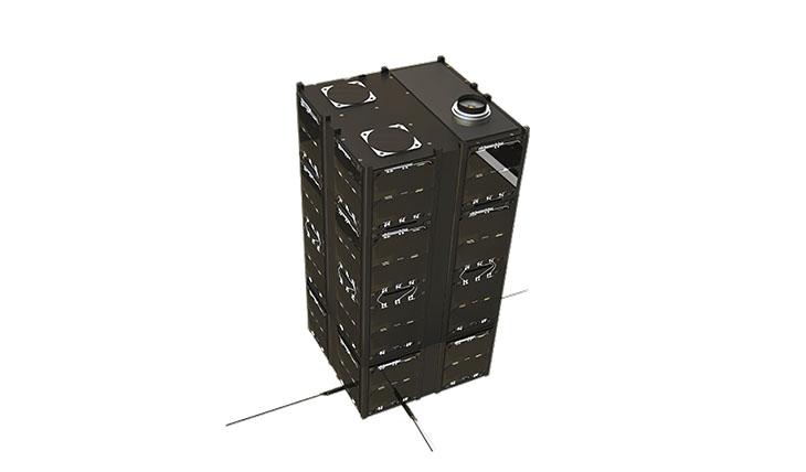 16-Unit CubeSat Structure image